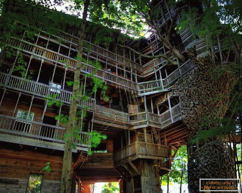 Minister's Treehouse (Crossville, Tennessee, Stany Zjednoczone)