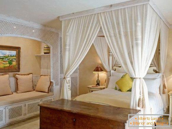 35 Wspaniałych Sypialni Z Baldachimem Nad łóżkiem
