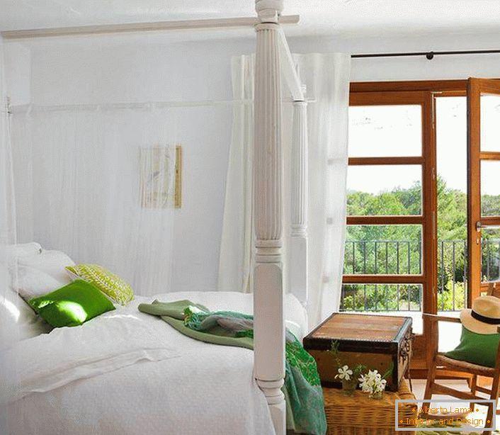Projekt Wnętrza Sypialni W Stylu śródziemnomorskim 40