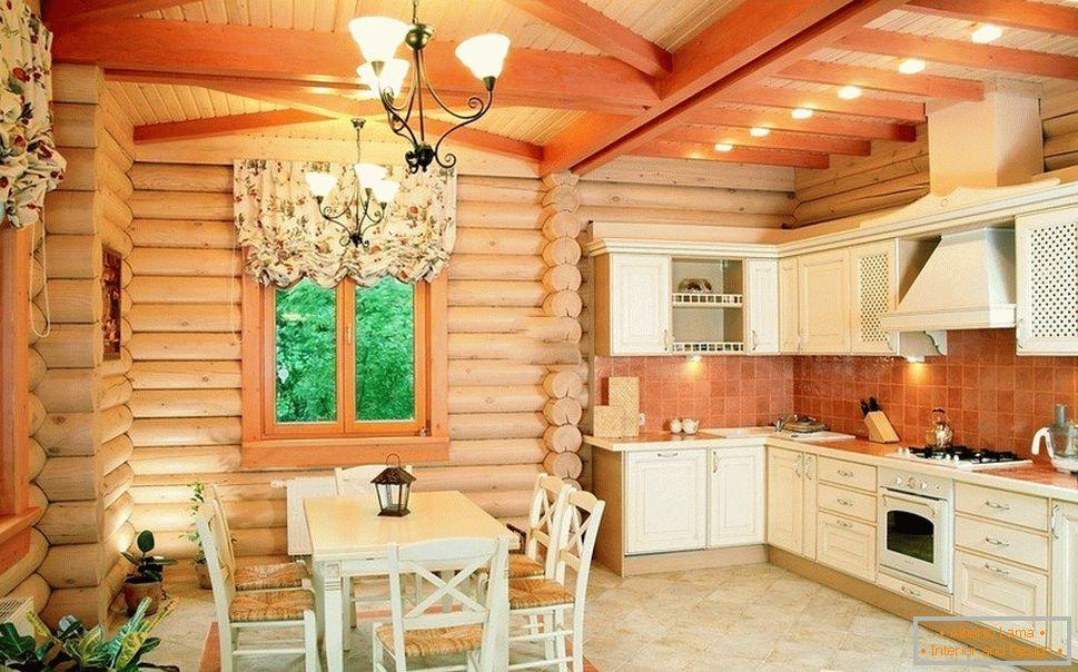 Projekt Kuchni W Drewnianym Domu 60 Przykładów Wnętrza Na