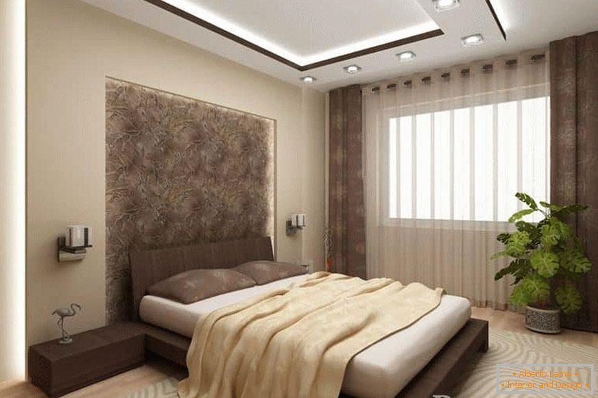 Projekt Sypialni 13 Mkw M Zdjęcie Wnętrza