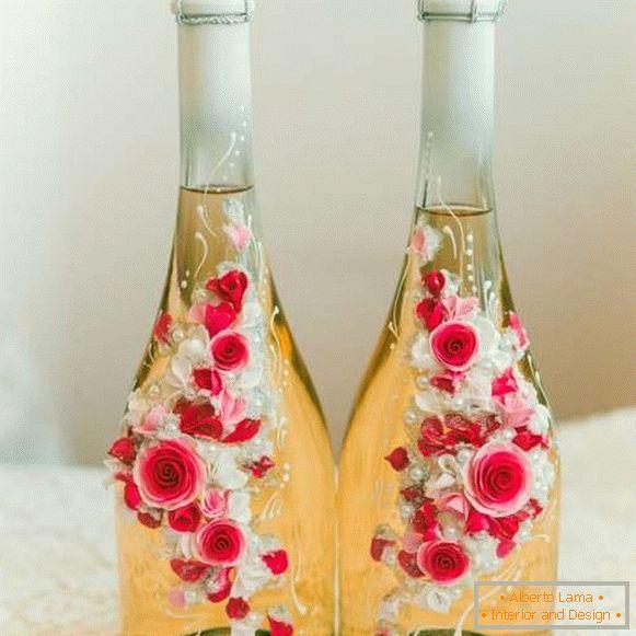 Fantastyczny Jak ozdobić butelkę szampana (25 zdjęć) TM44