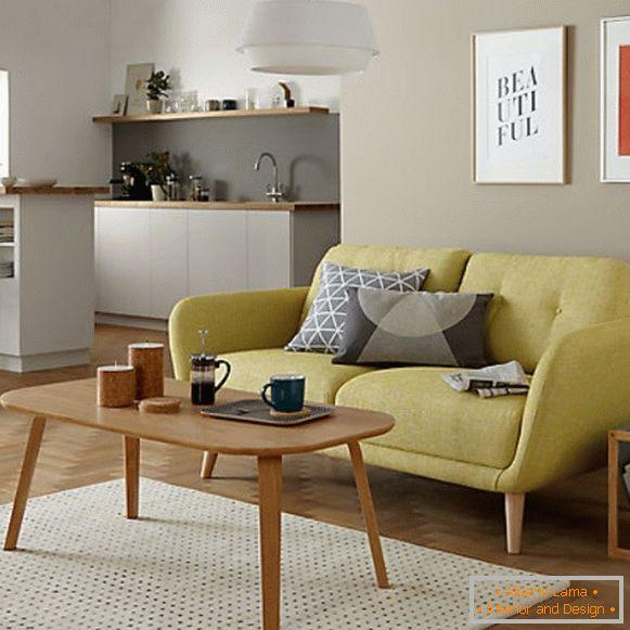 Mała Sofa W Kuchni Z łóżkiem 57 Udanych Rozwiązań