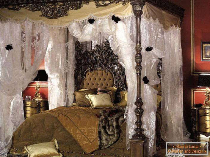 Cechy Sypialni W Stylu Barokowym Zdjęcie 55