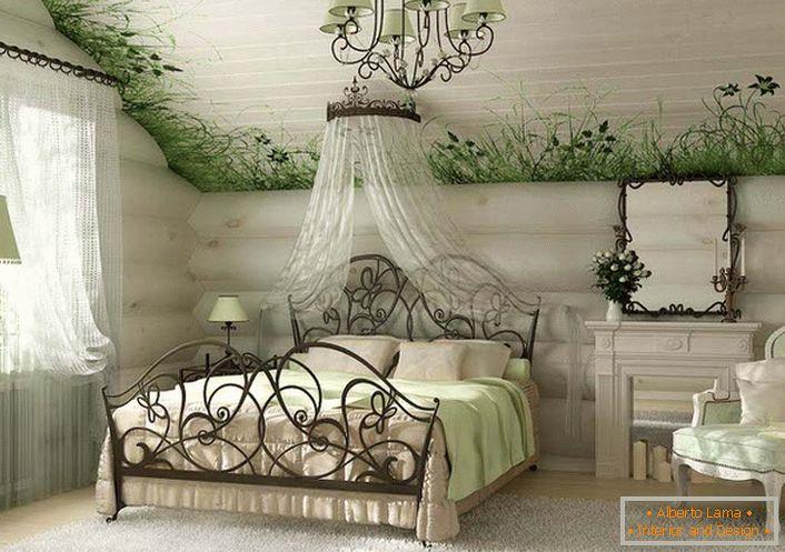 Prostota I Elegancja Sypialni W Wiejskim Stylu 54 Pomysłów